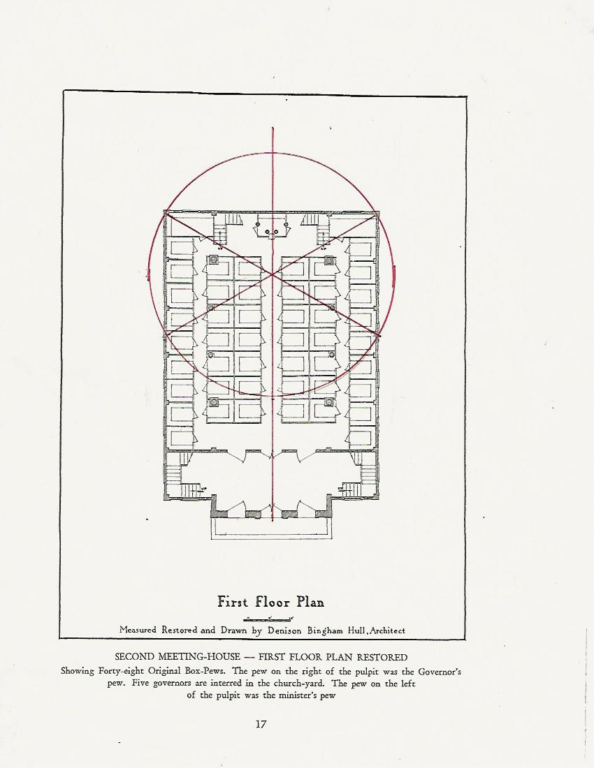jane griswold radocchia the old first church geometry the floor