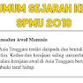 Tema Umum Sejarah Kertas 3 SPMU 2018