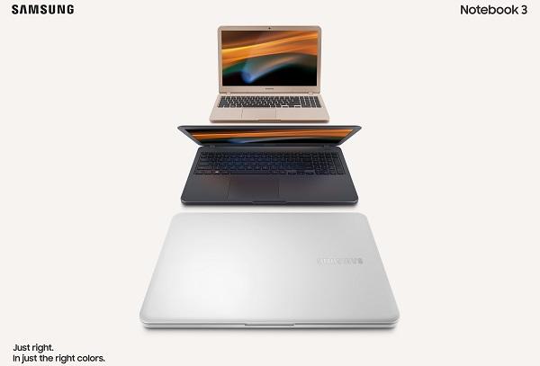 """SAMSUNG Notebook 3 (14"""" & 15"""") and Notebook 5 (15"""") launched"""