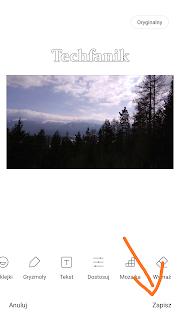 Xiaomi zapisywanie zdjęcia