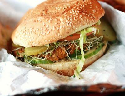 Vegetable Burger recipe by Chef Zakir