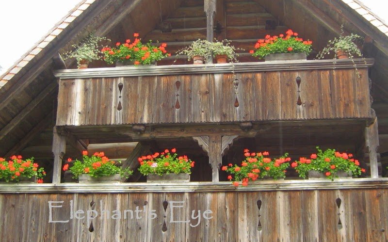 Windowbox at Ballenberg