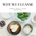 WHY WE DO THE CLEANSE