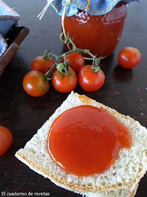 Mermelada de tomates cherrys{Apta para diabéticos}