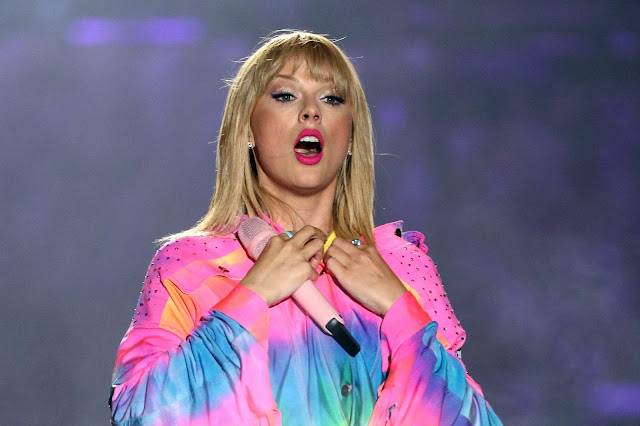 The world's highest paid celebrity is Taylor Swift