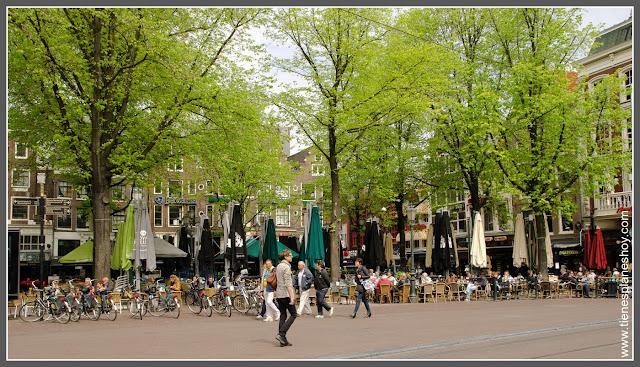 Leidsplein Amsterdam (Países Bajos)