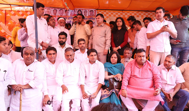 MP Deepender Singh Hooda completes 86-day running NSUI firing in Faridabad