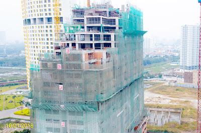 cập nhật tiến độ xây dựng dự án LUXGARDEN quận 7