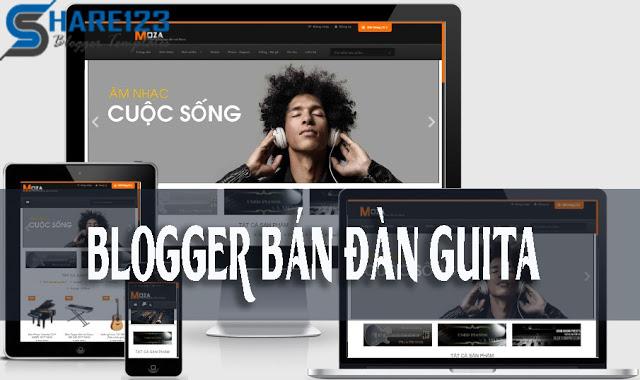 Moza template blogspot bán hàng Chuyên nghiệp