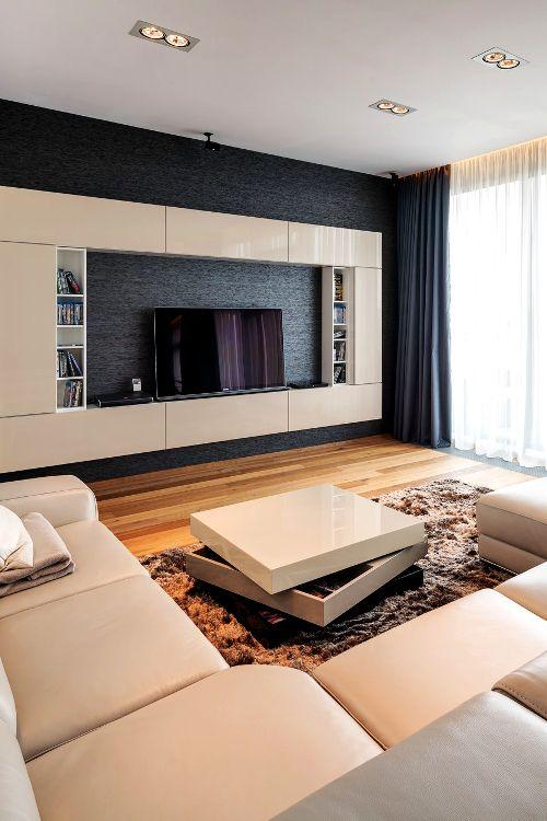 Design Tv Room: Luxury TV Living Room Sets