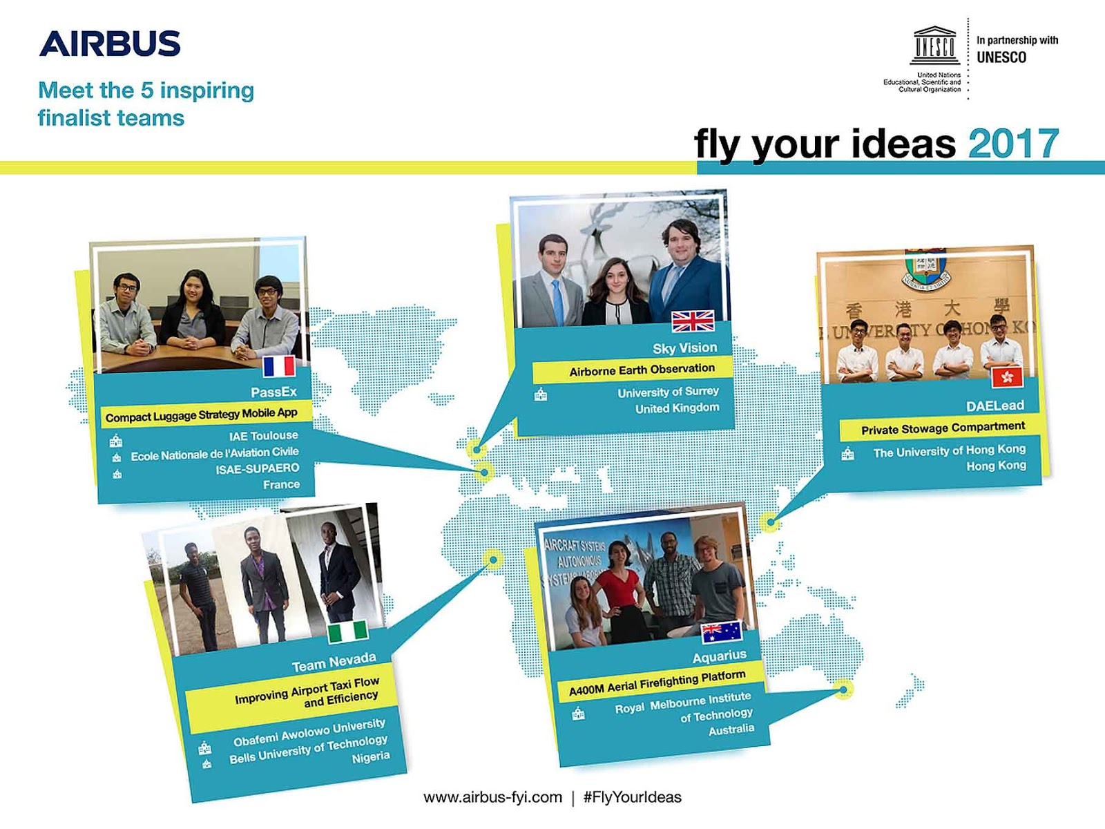 No Malaysian Team Made It to Airbus Fly Your Ideas 2017