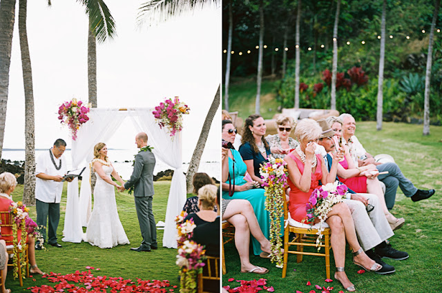 maui wedding photography at the white orchid wedding house