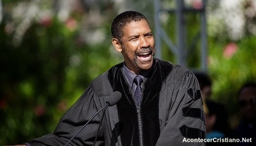 Discurso de Denzel Washington