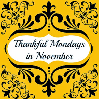 Thankful Mondays in November Hickory Ridge Studio