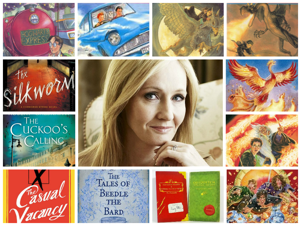 'Harry Potter' Fans, Rejoice! J.K. Rowling Is Writing Another Children's Book!