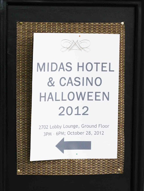 Midas Hotel and Casino Halloween and Trick or Treating 2012