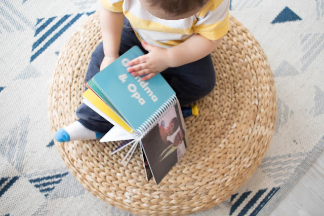 5 ideas to try with toddlers when your family lives far away. Simple ideas for connecting kids to family.