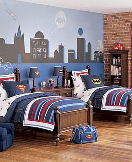 Little Boy Room Design Ideas: QUARTO INFANTIL INSPIRADO EM BATMAN