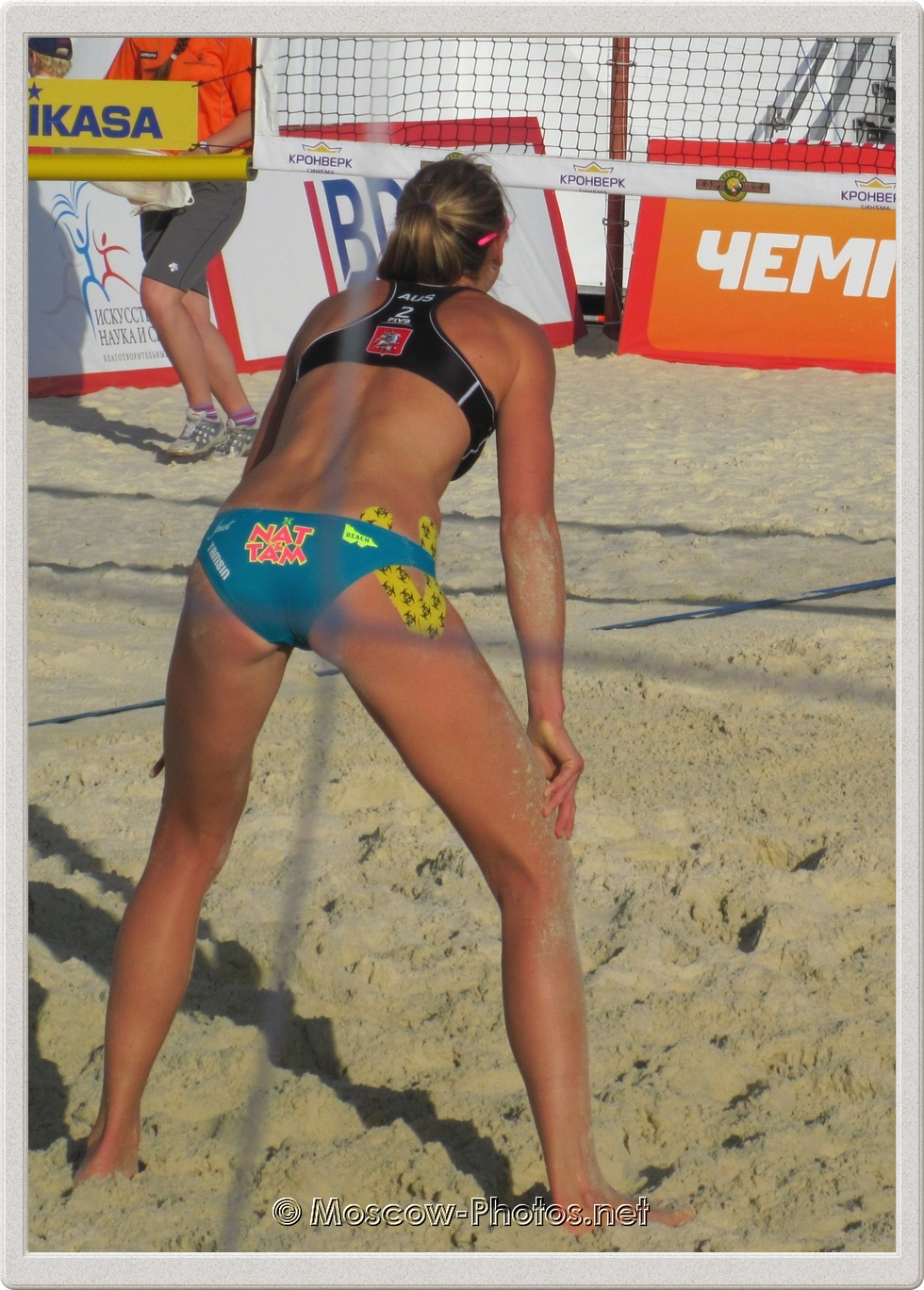 Tamsin Hinchley Beach Volleyball 2012