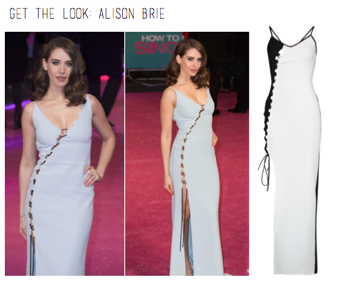 Get the Alison Brie Red Carpet Look