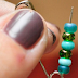 She Stacked Beads Onto A Safety Pin. What She Makes Is Something Every Girl NEEDS! SO CUTE!