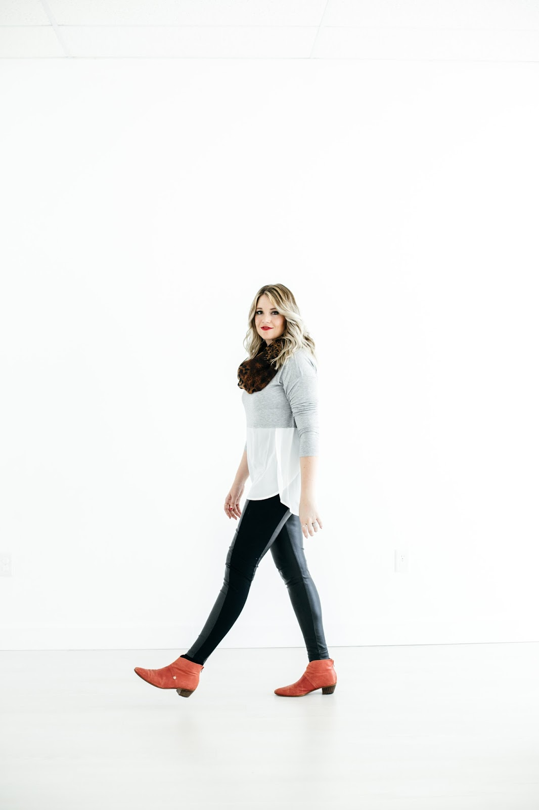 Bouvardian, Leopard Scarf, Utah Fashion Blogger
