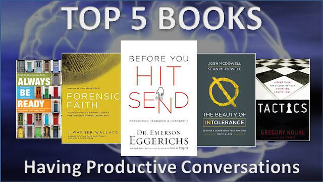 Top 5 Recommended Book for having Productive Conversations Online and In Person