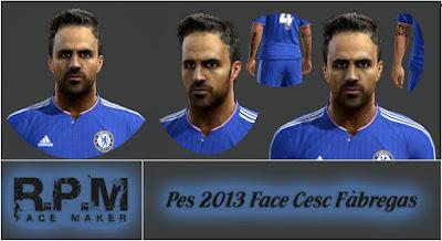 Pes 2013 Face Cesc Fabregas By R.P.M