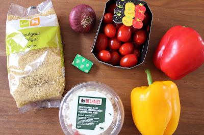 recette cuisine poivrons farcis au boulgour