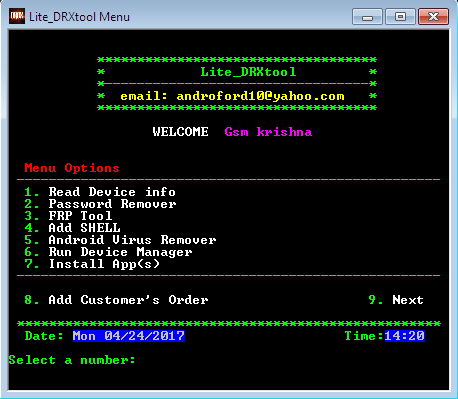 Lite DRX Android Tool v0.2 Virus Remover Free Download