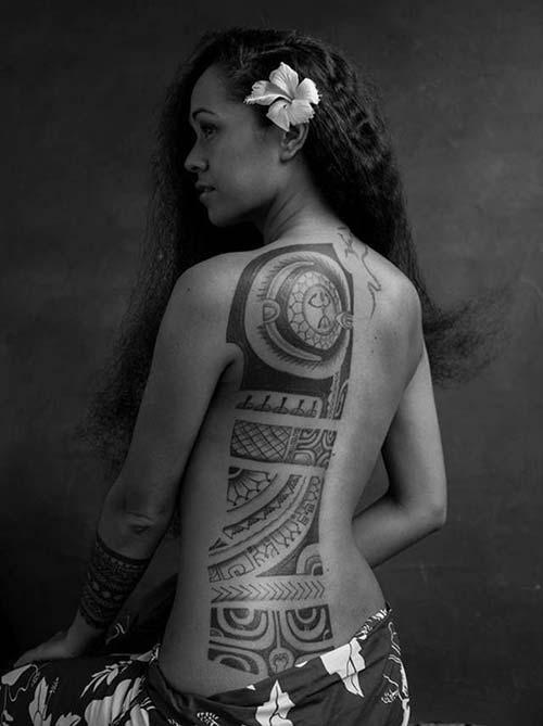 kadın maori tribal dövmeleri woman maori tribal tattoos 4