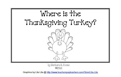 It's About Time, Teachers!: Where is the Thanksgiving Turkey?