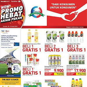 Katalog Promo Carrefour Weekend 20- 22 April 2018
