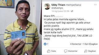 FPI dan Bang Japar Ciduk Pria yang Diduga Hina Habib Rizieq di Medsos