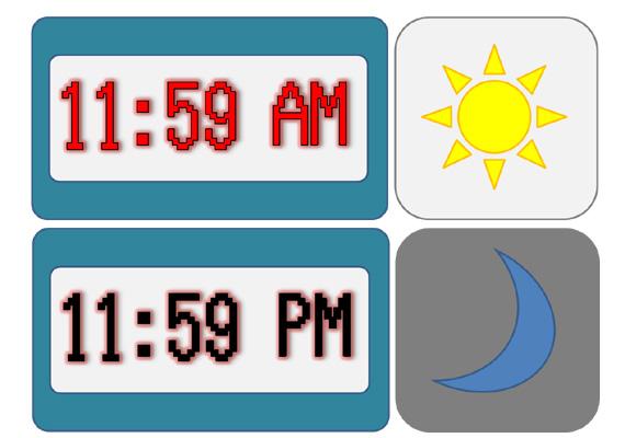 Apa sebenarnya arti AM dan PM pada penulisan jam Apa sebenarnya arti AM dan PM pada penulisan Jam