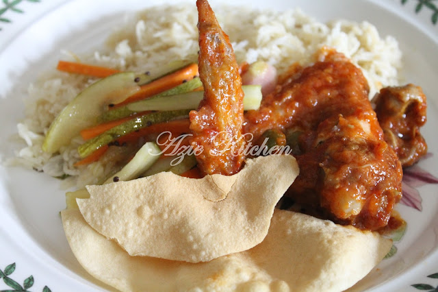 Nasi Minyak Nana Ain Hidangan Aidil Adha