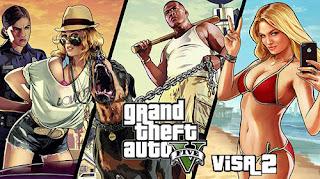 Grand Theft Auto 5 Visa 2 V1.08 MOD Apk + Data Obb