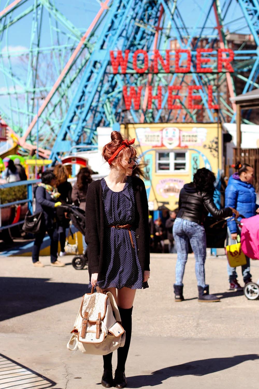 nyc fashion blog, fashion blog in ny, vintage fashion blog, coney island fashion,kohls