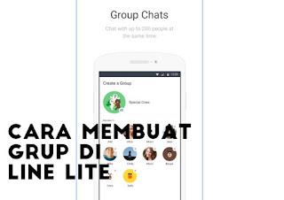 cara membuat grup di line lite