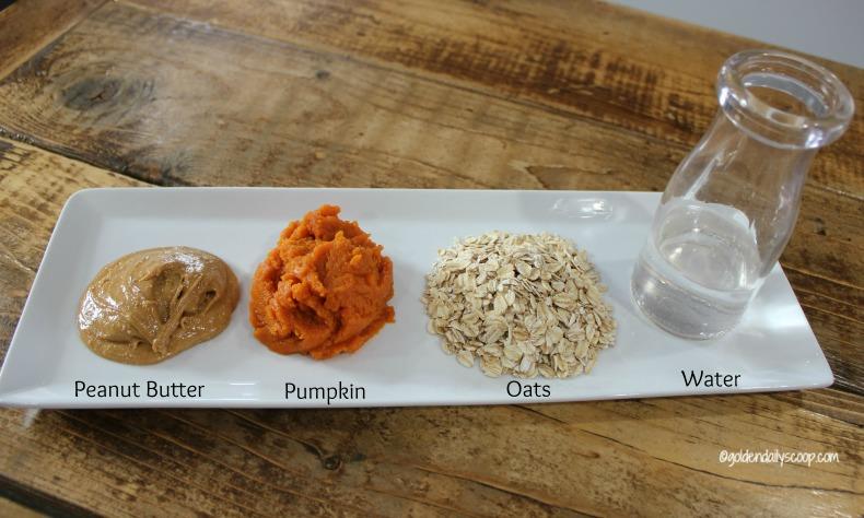 Oatmeal Pumpkin Sweet Potato Round Dog Treats