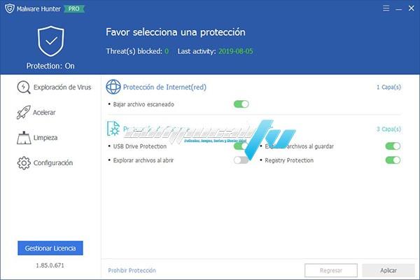 Glary Malware Hunter Pro Versión 1.85.0.671 Full Español