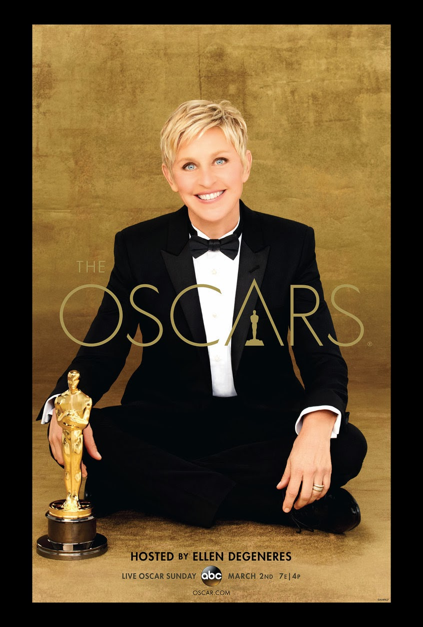 2014 Oscars, Hosted by Ellen Degeneres, 86th Annual Academy Awards, Poster