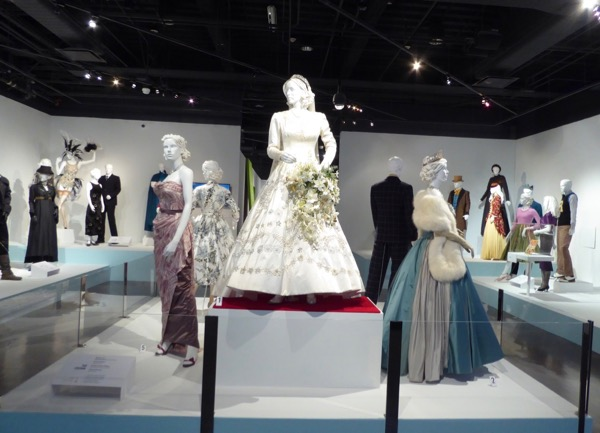 Crown season 1 costumes FIDM Museum LA