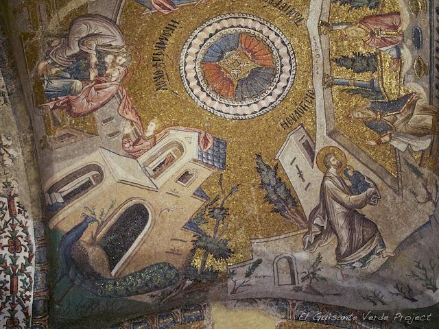 Mosaicos de San Salvador de Cora - Estambul por El Guisante Verde Project
