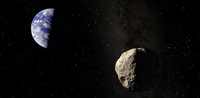 large asteroid to fly by earth on wednesday