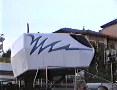 Simulador 3D en Avd. del Pilar. Fiestas Binéfar 1996