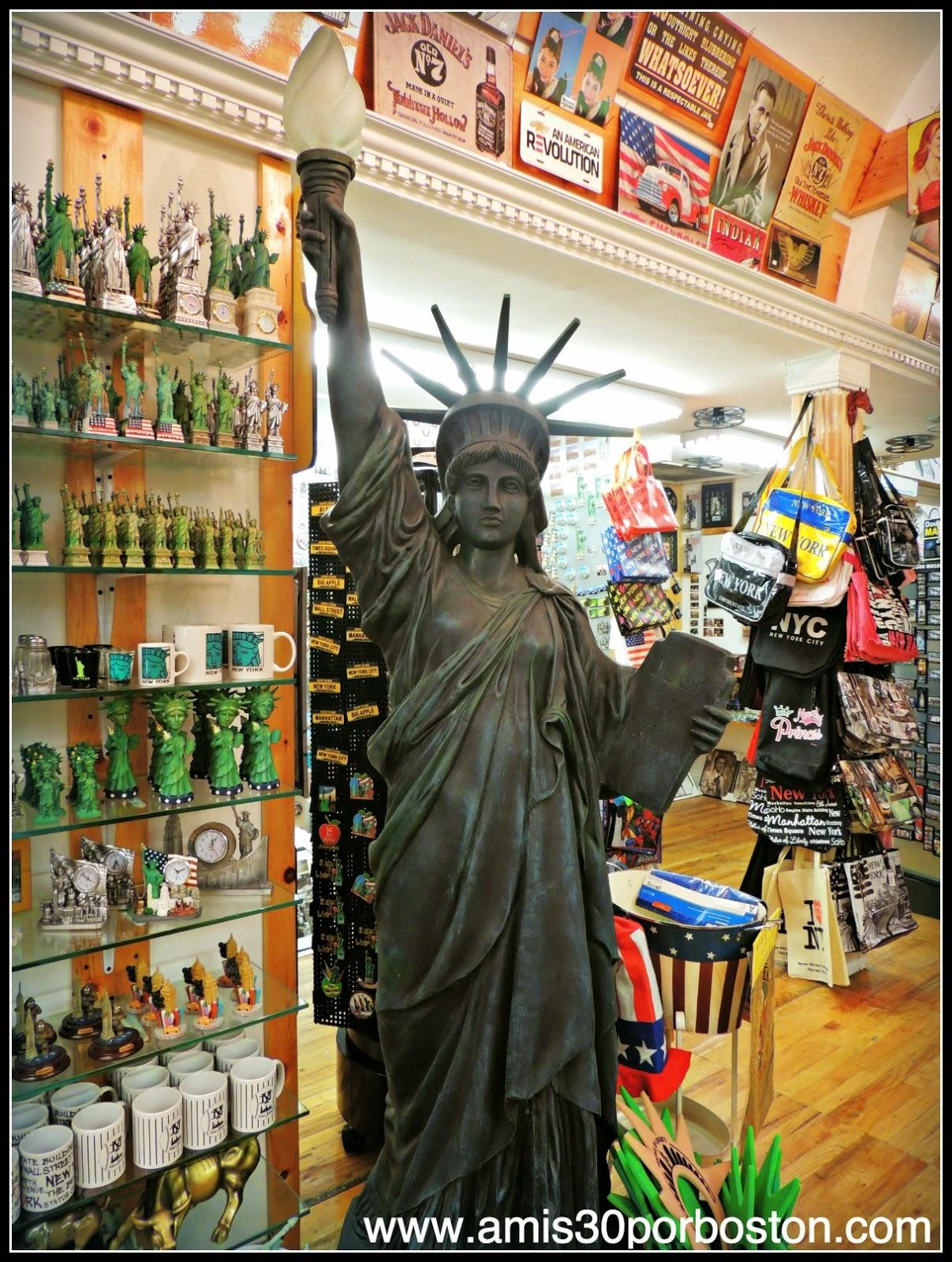 Segunda Visita a Nueva York: Tiendas de Regalos