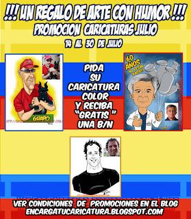 PROMOCION CARICATURAS JULIO 2016