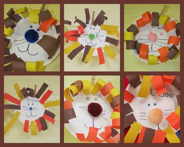Jungle Animal Preschool Art Projects