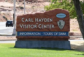 格蘭峽谷水壩, Glen Canyon Dam, 包偉湖, Lake Powell, 遊客中心, Carl Hayden Visitor Center